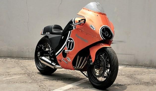 Kawasaki GPZ600 od Studio Motor